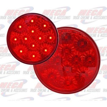 TURN TAIL 4'' RED LED W/ NEW REFLECTIVE DESIGN
