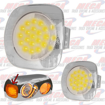 FRONT TURN SIGNAL FL CENTURY CLEAR FITS NEXT TO HDLT