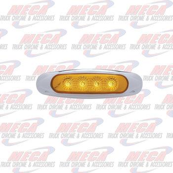 MARKER LIGHT AMBER 4 LED