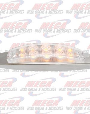 MARKER LIGHTS MARKER LIGHT AMBER CLEAR 10 LED
