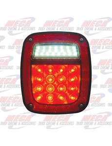 MARKER LIGHTS TAIL LIGHT OLD JEEP STYLE W/O LICENSE PLATE LIGHT
