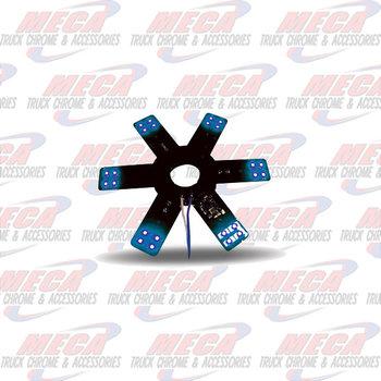 STAR LED- INSIDE AIR FILTER BLUE EACH