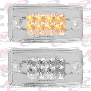 FL O.E.M. VISOR LED LIGHT W/ CLR  AMB REFLECTORS