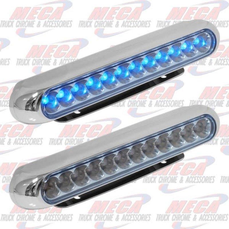 12 BLUE LED STRIP W/ BRACKET