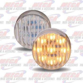 LED LIGHT 2.5'' CLEAR AMBER
