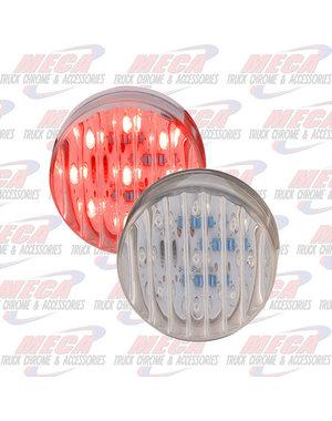 MARKER LIGHTS LED LIGHT 2.5'' CLEAR RED