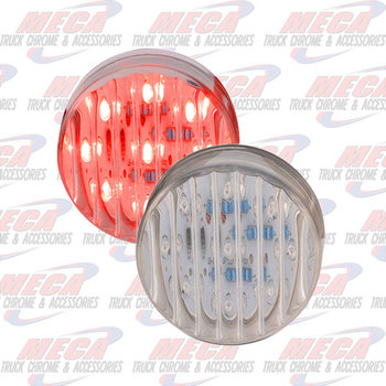 LED LIGHT 2.5'' CLEAR RED