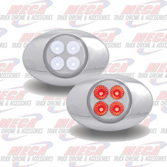 MARKER DUAL RED WHITE 4 LED M3 STYLE