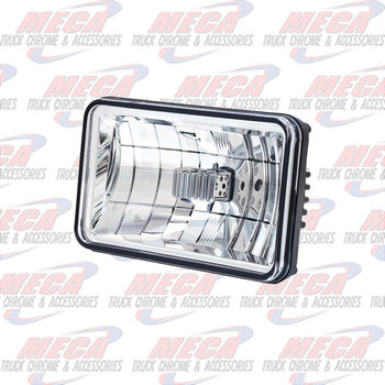 "4""X 6"" LED HEADLIGHT-LOW BEAM"