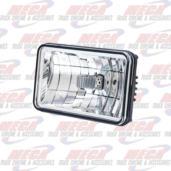 "MARKER LIGHTS 4""X 6"" LED HEADLIGHT-LOW BEAM"