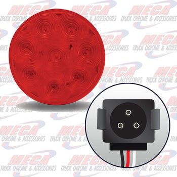 LED 4'' RED W/ GROTE PLUG
