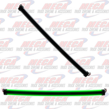 24'' CLEAR GREEN SIDE LED GLOW STRIP LIGHT
