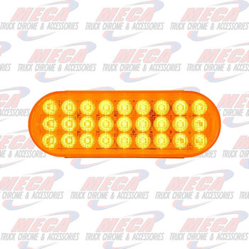 LED OVAL AMBER/AMBER DYNAMIC SEQUENTIAL