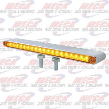 """LOLLYPOP BAR 12"""" W/ REFLECTORS AMB/RED LED'S"""