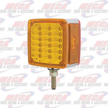 LOLLYPOP 39 LED SQD REFL TURN SIGNAL AMB/RED DRIV