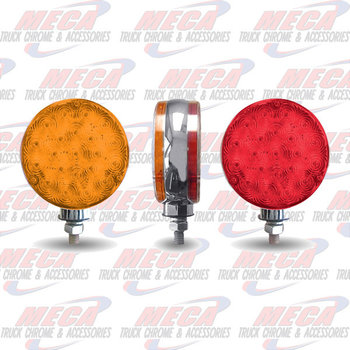LOLLYPOP FLEET STYLE LED 42 DIODES RED/AMBER