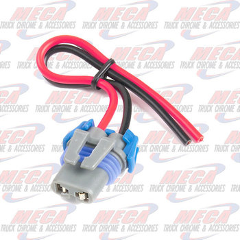 HARNESS, HEADLAMP, 2 PRONG, LOW BEAM, FOR 9006