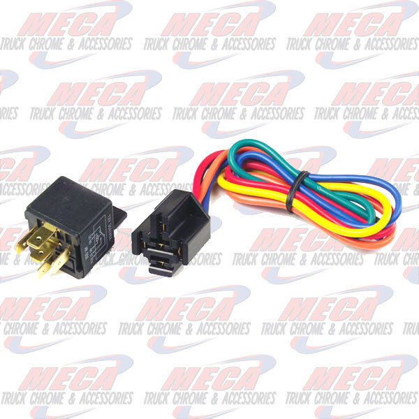 MARKER LIGHTS 5 PIN RELAY & PIGTAIL, PK 1
