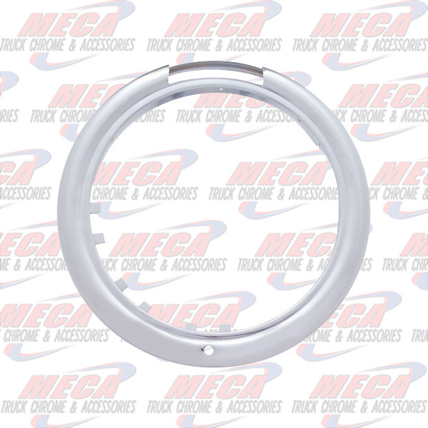 FRONT JJ HEADLIGHT OUTSIDE RIM WITH SIGNAL LIGHT HOLE