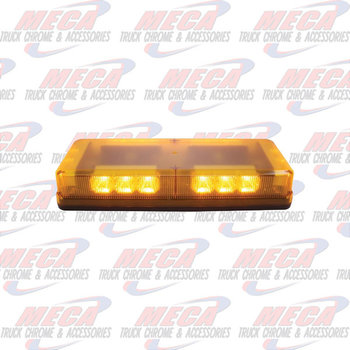 STROBE BAR 18 LED AMBER BAR MAGNET MOUNT