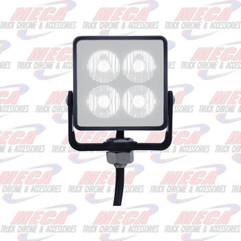 STROBE WHITE 4 LED HIGH POWER SQUARE