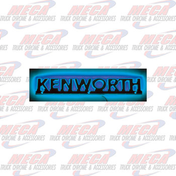 STEALTH EMBLEM LT KW BLUE HOOD SIDE NAME W/TRIM