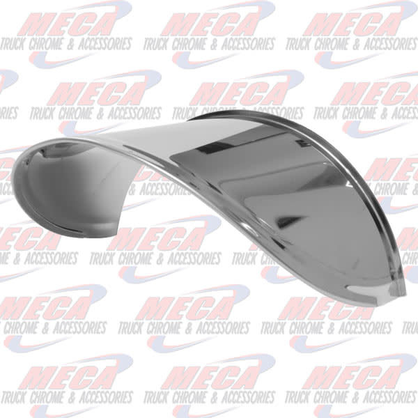 FRONT ROUND HEADLAMP VISOR EXTENDED S/S