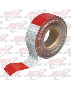 OTHER CONSPICUITY REFLECTIVE TAPE RED / WHITE 50M