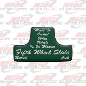 SWITCH GUARD STICKER FL GREEN 5TH WHEEL
