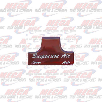 SWITCH GUARD STICKER FL RED AIR SUSPENSION