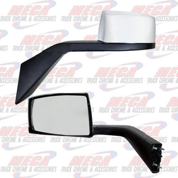 HOOD MIRROR VOLVO H.D. DRIVER SIDE W/FLANGE & NUTS