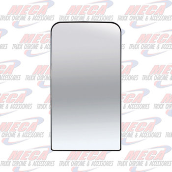 FLAT MAIN MIRROR GLASS FOR KW T600, T660, T800 W/ DEFROST