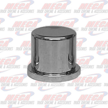 NUT COVER PLASTIC BUTTON 1.25'-33MM W/O FLANGE