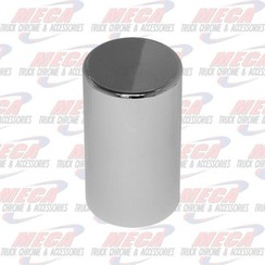 """NUT COVER 3.5"""" PLASTIC THREADED 33MM FLAT CYLINDER 10 PACK"""