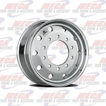 "RIM AL 22.5X12.25 BALLOON METRIC ACCURIDE 1"" OFFSET STEER"