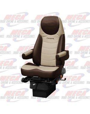 INSIDE NATIONAL4 SEAT PREMIUM LEATHER TAN / BROWN