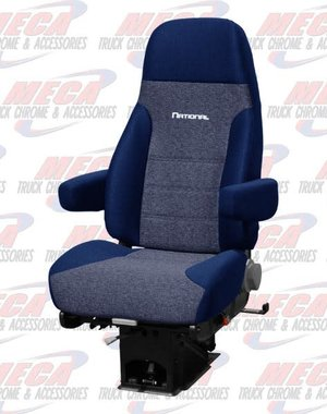 INSIDE NATIONAL2 SEAT STANDARD PLUS CLOTH 2- TONE BLUE