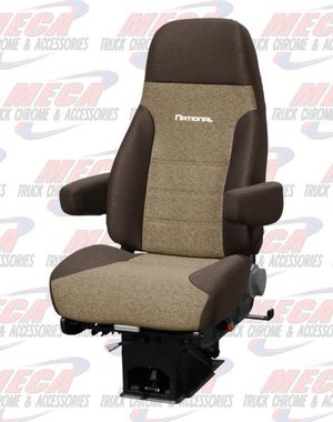 INSIDE NATIONAL2 SEAT STANDARD PLUS CLOTH 2- TONE BROWN