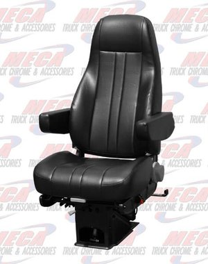 INSIDE SEAT NATIONAL2 CAPTAIN VINYL BLACK