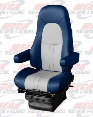 INSIDE NATIONAL4 SEAT COMMODORE LEATHER 2 TONE BLUE/