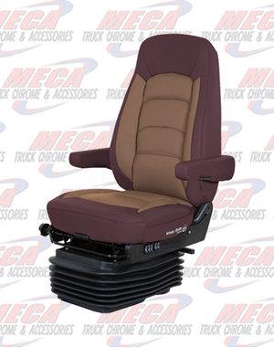 INSIDE SEAT WR II HI BK LOW RIDER RED/ TAN ULTRA LEATHER