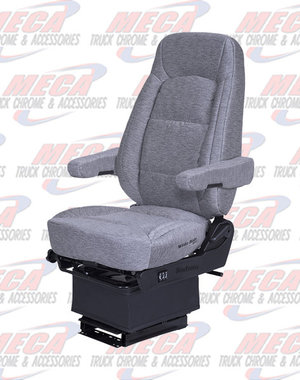 INSIDE SEAT BOS HI BK GRY CLOTH WIDE RIDE II SERTA ARMS