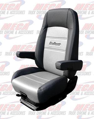 INSIDE SEAT BOSTROM PRO RIDE BLK/GRAY TITAN LTHR LOW PRO
