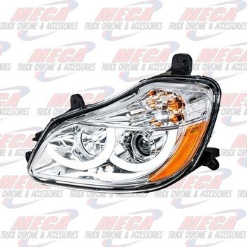 UNITED PACIFIC HEADLIGHT ASSEMBLY KW T680 DRIVER SIDE CHROME