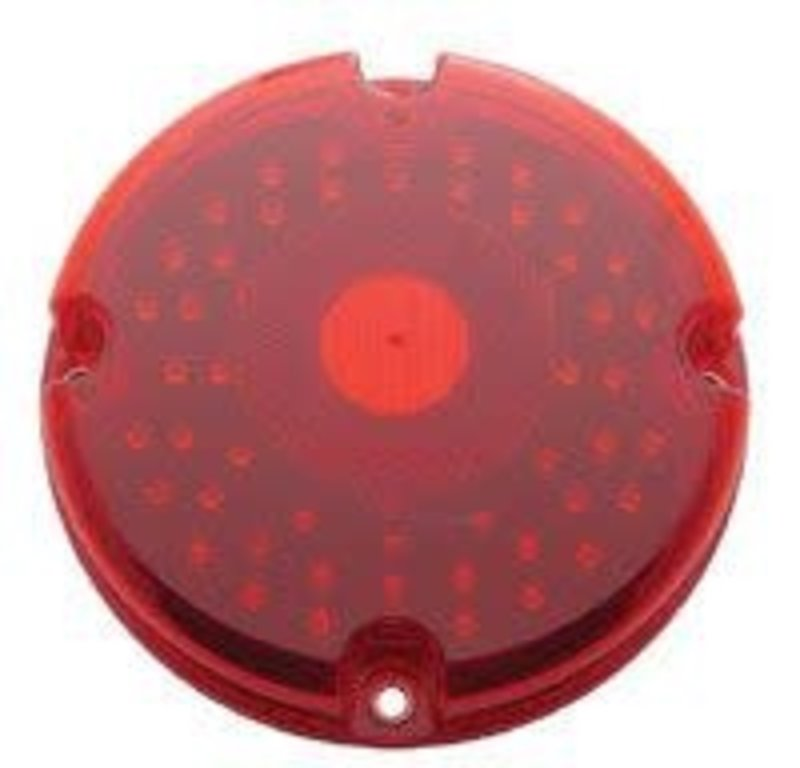"7"" LED LIGHT FOR BUSES RED"