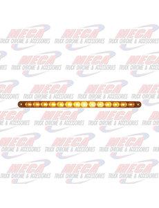 """MARKER LIGHTS 12"""" BAR W/ 14 AMBER LED'S - FITS LBZ1440,41,66,76"""
