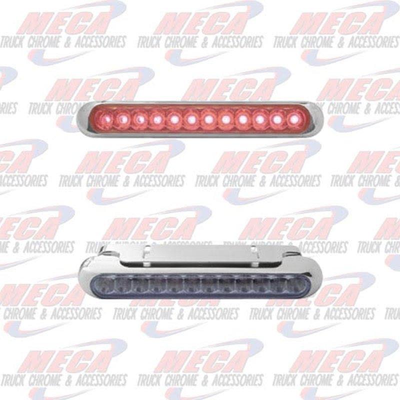 12 RED LED STRIP W/ BRACKET