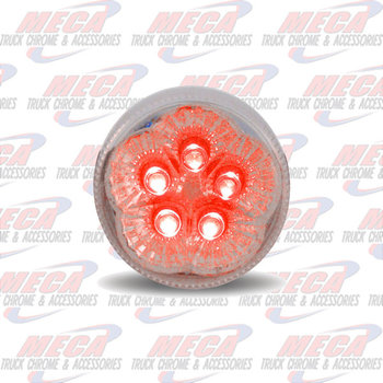 LED 2.5'' SUPERLITE STYLE CLEAR RED