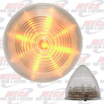LGT BEEHIVE 2.5 CLEAR AMBER LED 13 DIODES