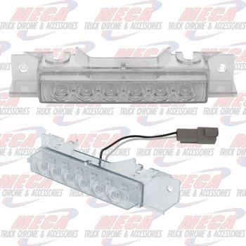 VOLVO VNL LED CAB LIGHT AMBER CLEAR 6 LED